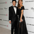 Постер, плакат: Johnny Weir and Maria Menounos at the 18th Annual Elton John AIDS Foundation Oscar Viewing Party Pacific Design Center West Hollywood CA 03 07 10