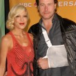 Tori Spelling and Dean McDermott - Stock Photo