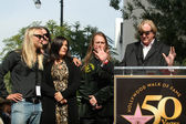Barbara Orbison, Wesley Orbison, Alex Orbison, Roy Orbison Jr, T-Bone Burnett — Stock Photo
