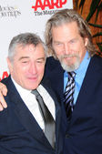 Robert De Niro and Jeff Bridges — Stock Photo