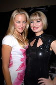 Kristanna Loken and Rena Riffel — Stock Photo