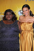 Gabourey Sidibe and Paula Patton — Stock Photo