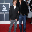Kenny G and son at 52nd Annual Grammy Awards - Arrivals, Staples Center, Los Angeles, CA. 01-31-10 — Stock Photo #15044837