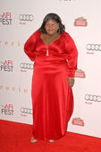 Gabourey Sidibe at the AFI Fest Premiere of 'Precious,' Chinese Theater, Hollywood, CA. 11-01-09 — Stok fotoğraf