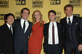 Ken Jeong, Ed Helms, Heather Graham, Justin Bartha and Bradley Cooper — Stock Photo