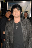 Adam Lambert at the premiere of 2012, Regent Cinemas L.A. Live, Los Angeles, CA. 11-3-09 — Stock Photo