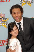 "Bailee Madison and Corbin Bleu at Variety's 3rd Annual ""Power of Youth,"" Paramount Studios, Hollywood, CA. 12-05-09 — Stock Photo"