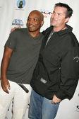 JJ Rogers and Lazrael Lison — Foto Stock