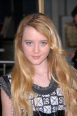 Kathryn Newton at the Dear John World Premiere, Chinese Theater, Hollywood, CA. 02-01-10 — Zdjęcie stockowe