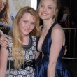 Kathryn Newton and Amanda Seyfried at the Dear John World Premiere, Chinese Theater, Hollywood, CA. 02-01-10 — Stock Photo