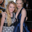 Kathryn Newton and Amanda Seyfried  at the Dear John World Premiere, Chinese Theater, Hollywood, CA. 02-01-10 — ストック写真