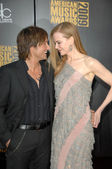 Keith Urban and Nicole Kidman at the 2009 American Music Awards Arrivals, Nokia Theater, Los Angeles, CA. 11-22-09 — Stock Photo