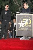 Ringo Starr and Joe Walsh — Stock Photo