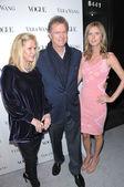 Kathy Hilton, Rick Hilton and Nicky Hilton — Stock Photo