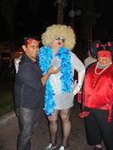 Asistentes a fiesta de halloween — Foto de Stock