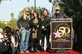Dan Aykroyd with Barbara Orbison, Wesley Orbison, Alex Orbison, Roy Orbison Jr. at the induction ceremony for Roy Orbison into the Hollywood Walk of Fame, Hollywood, CA. 01-29-10 — Stock Photo