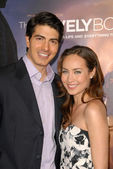 Brandon routh, ford courtney — Photo