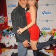 Постер, плакат: Danny Trejo and Alicia Arden at Bridgetta Tomarchio B Day Bash and Babes in Toyland Toy Drive Lucky Strike Hollywood CA 12 04 09