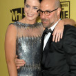 Emily Blunt and Stanley Tucci  at the 15th Annual Critic's Choice Awards, Hollywood Palladium, Hollywood, CA. 01-15-10 — Stock Photo