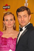 Diane Kruger and Joshua Jackson at The Weinstein Company 2010 Golden Globes After Party, Beverly Hilton Hotel, Beverly Hills, CA. 01-17-10 — Stock Photo