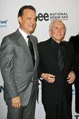 Tom Hanks and Kirk Douglas — Stock Photo
