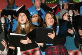 High School Choir — Stock Photo