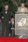 Ringo Starr and Ben Harper — Stock Photo