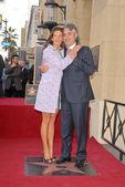 Veronica Berti and Andrea Bocelli — Stockfoto
