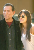 Wes Studi and Michelle Rodriguez — Stock Photo