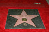 Ringo Starr's star — Stock Photo