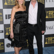 Sam Trammell with wife — 图库照片