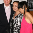 Mike Antonovich and wife Christine with Bai Ling — Stok Fotoğraf #15079843