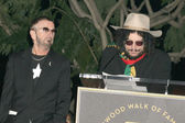 Ringo Starr and Don Was — Stockfoto