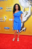 Garcelle Beauvais at the 41st NAACP Image Awards - Arrivals, Shrine Auditorium, Los Angeles, CA. 02-26-10 — Stock Photo
