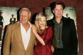 Robert Loggia with Pell James and Bill Pullman — Stock Photo