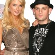 Paris Hilton and Benji Madden — Stock Photo
