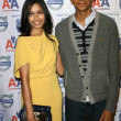 Freida Pinto and Dev Patel — Stock Photo