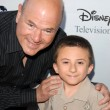 Larry Miller and Atticus Shaffer — Stok fotoğraf #15083739