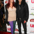 Slash and wife Perla — Stock Photo #15085225
