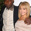 Постер, плакат: Jimmy Jean Louis and Hayden Panettiere at a Benefit for The Whaleman Foundation Beso Hollywood CA 11 15 09