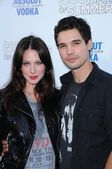 Lynn Collins and Steven Strait — Stock Photo