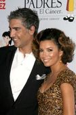 Alejandro Fernandez and Eva Longoria Parker at the 8th Annual Padres Contra El Cancers El Sueno De Esperanza Benefit Gala. Hollywood and Highland Grand Ballroom, Hollywood, CA. 10-07-08 — Stock Photo