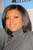 Taraji P. Henson at the 25th Film Independent Spirit Award Nominations Press Conference, Sofitel Hotel, Los Angeles, CA. 12-01-09 — Foto Stock