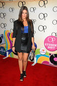 """Khloe Kardashian at the """"OPen Campus"""" New OP Campaign Launch Party, Mel's Diner, West Hollywood, CA 07-07-2009 — Stock Photo"""