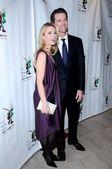 Jennifer Siebel and Gavin Newsom — Stock Photo