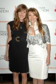 Katherine Flynn and Jane Seymour at the 4th Annual Los Angeles Gala for the Christopher and Dana Reeve Foundation. Beverly Hilton, Beverly Hills, CA. 12-02-08 — Stock Photo