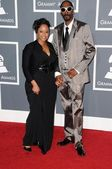 Snoop dogg y esposa shante — Foto de Stock