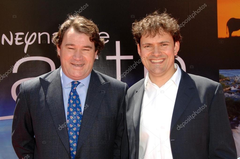 Alastair Fothergill and Mark Linfield at the World Premiere of ...