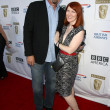 Stock Photo: Kate Flannery and Chris Haston