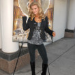 "Joanna Krupa  Unveils her ""Angelic Side"" in PETA Ad, Westside Pavilion, Los Angeles, CA. 12-01-09 - Stock Photo"
